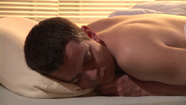hd: sound asleep - snoring stock videos and b-roll footage