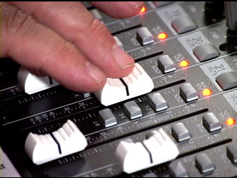 sound mixer - producer stock videos and b-roll footage
