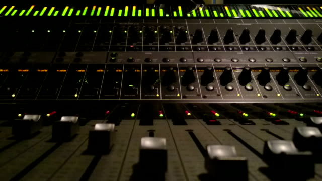 sound mixer - audio equipment stock videos & royalty-free footage