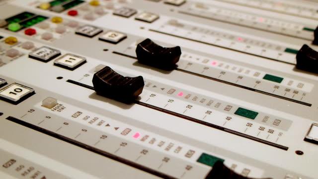 Sound mixing Konsole