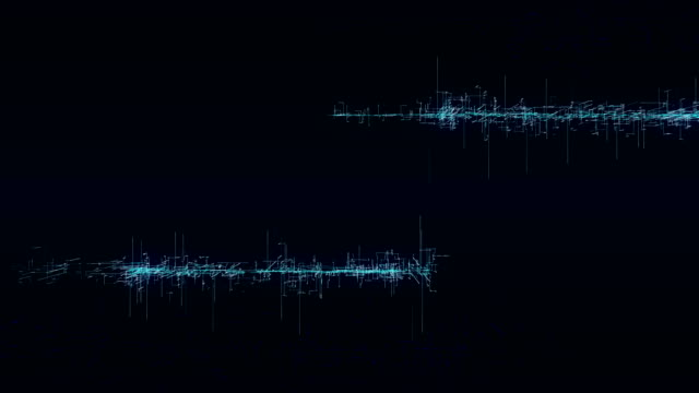 Sound Wave Screen Animation - 4K Resolution