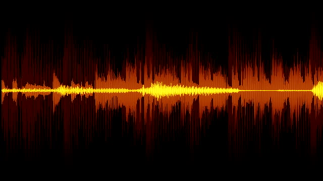 sound wave - sound wave stock videos & royalty-free footage