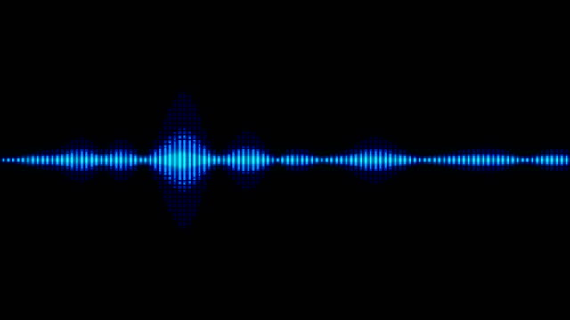 sound waves audio - wave pattern stock videos & royalty-free footage
