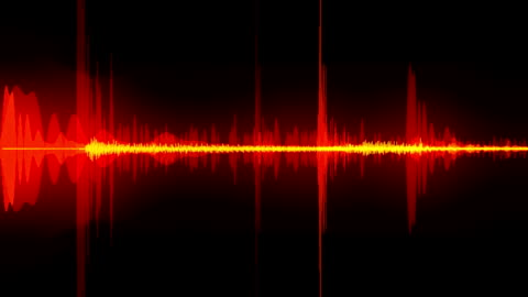 vídeos y material grabado en eventos de stock de ondas de sonido - variación