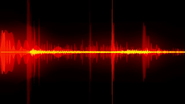 sound waves - radio stock videos & royalty-free footage