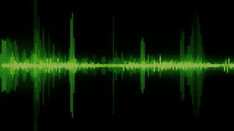 stockvideo's en b-roll-footage met sound waves - waving