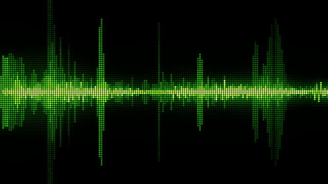 sound waves - wave pattern stock videos & royalty-free footage