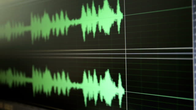 sound waves - radio studio stock videos & royalty-free footage