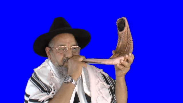 Klingt eine shofar für Rosch Haschana