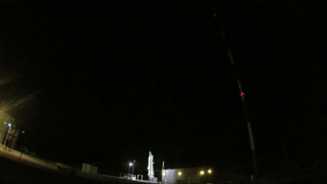 a sounding rocket launched from white sands missile range to study the comet ison - white sands missile range stock videos & royalty-free footage
