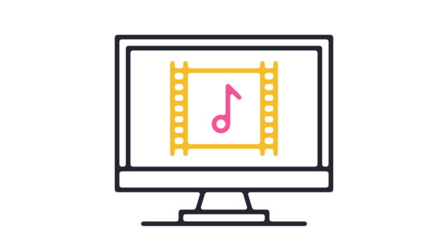 soundtrack icon animation - soundtrack stock videos & royalty-free footage