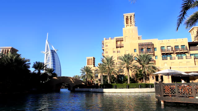 souq madinat jumeirah - middle eastern culture stock videos & royalty-free footage