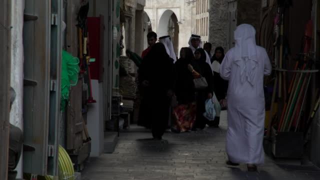 souq - qatar stock videos & royalty-free footage