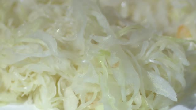 sour cabbage - crucifers stock videos & royalty-free footage