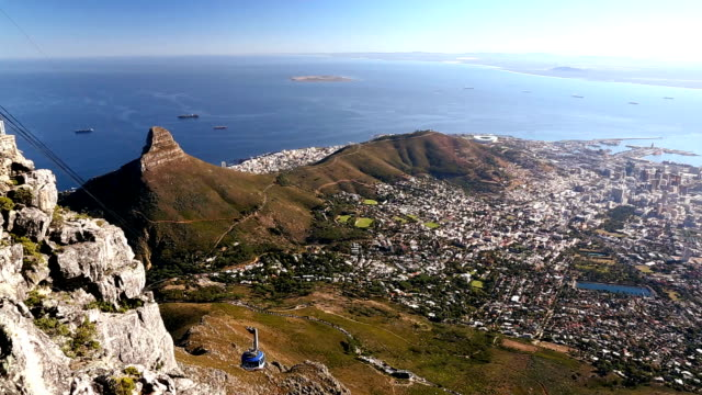 South Africa Cape Town Table Mountain Cable Car
