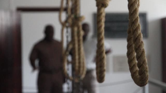 South Africa exhumes the remains of 12 anti apartheid activists from the Pan Africanist Congress movement who were hanged in 1964 and buried in...