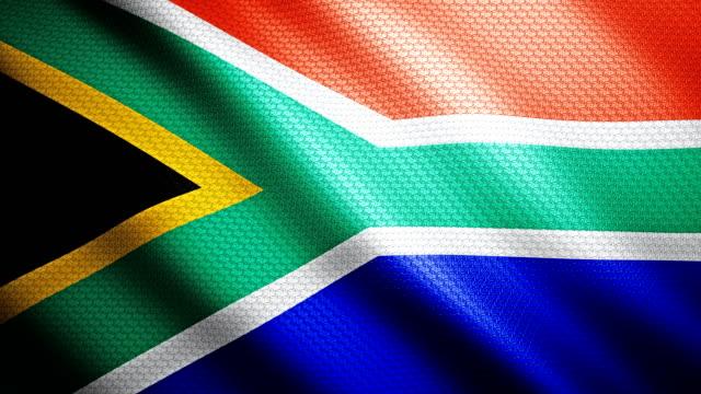 South Africa Flag 4K