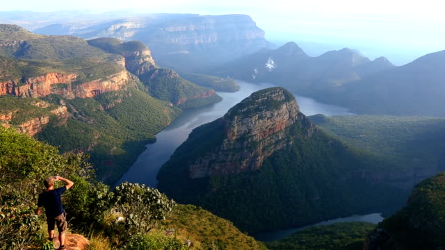 South Africa male Blyde River Canyon Mpumalanga escarpment