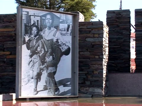 south africa today commemorates the 1976 soweto uprising a riot that marked the beginning of the black struggle against apartheid it was brutally and... - soweto stock videos and b-roll footage
