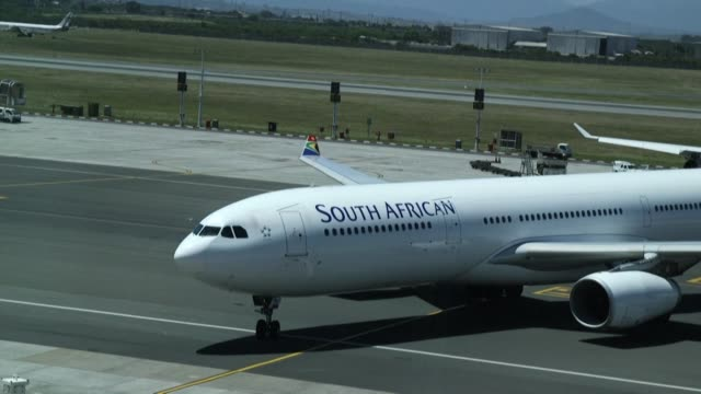 south african airways was placed under a state led rescue plan on as part of a massive restructuring following a costly week long strike last month - last stock videos & royalty-free footage
