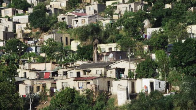 South African hillside village