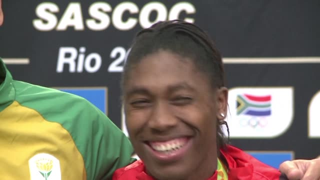 south african olympic 800 metre champion caster semenya marries her long term partner in pretoria - caster semenya stock videos & royalty-free footage