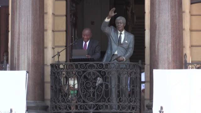 south african president cyril ramaphosa marks the 30th anniversary of nelson mandela's release from jail with an address from the spot where the anti... - prison icon stock videos & royalty-free footage