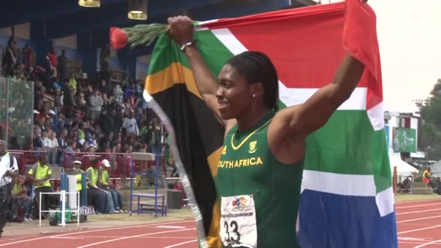 south africa's sports minister tokozile xasa says she will fly to switzerland to support caster semenya at a landmark hearing on proposed rules to... - caster semenya stock videos & royalty-free footage