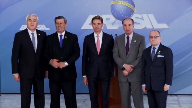south american trade bloc mercosur and the european union are stepping up efforts to reach a deal by the end of the year - mercosur stock videos & royalty-free footage
