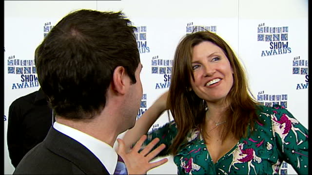 photocalls and interviews Alexander Armstrong interview SOT was tough category Sharon Horgan interview SOT didn't expect to win Wayne McGregor with...