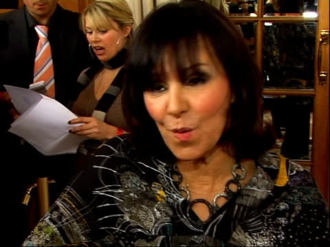 south bank show awards: photocalls and interviews; arlene phillips (choreographer and judge on 'strictly come dancing' interview sot - dance is... - ストリクトリーカムダンシング点の映像素材/bロール