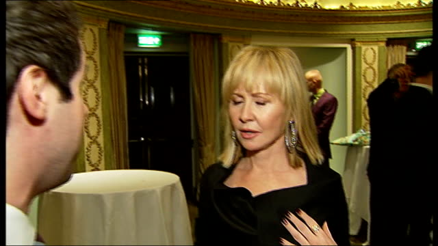 photocalls and interviews more shots of guests including julian lloydwebber lulu interview sot saying cameron mackintosh is great man of british... - andrew lloyd webber stock videos and b-roll footage