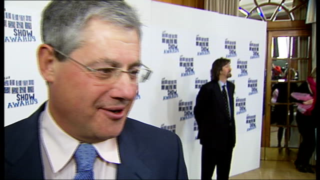 photocalls and interviews sir cameron mackintosh interview sot thrilled to get award from friends wanted to be producer since was 8 never wanted to... - cameron mackintosh stock videos & royalty-free footage