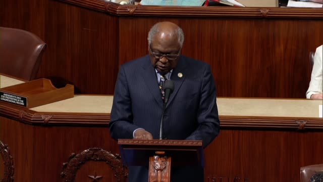 south carolina congressman james clyburn says in debate on a resolution rejecting white supremacy and white nationalism that when alexis and de... - genius stock videos & royalty-free footage