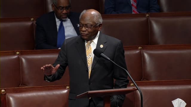 south carolina congressman jim clyburn says in debate on the cares act to deal with economic and healthcare aspects of the coronavirus outbreak that... - uneven stock videos & royalty-free footage