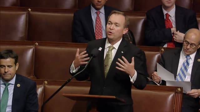 south carolina congressman mick mulvaney debates four intertwined amendments he was to offer to the military construction and veterans affairs and... - notfallplan konzepte stock-videos und b-roll-filmmaterial