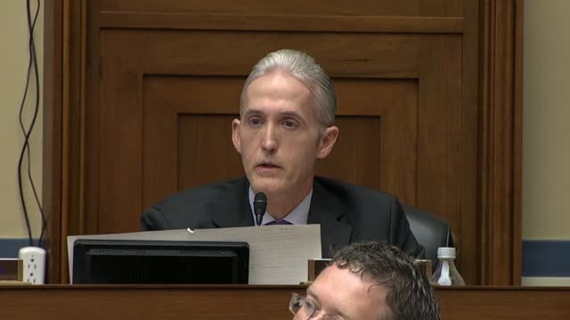 south carolina congressman trey gowdy says hillary clinton should have known not to use a private email server and outlines the extent to which her... - thomas jefferson stock videos & royalty-free footage