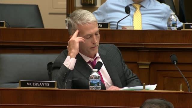 south carolina congressman trey gowdysays at a hearing on 2016 investigations of hillary clinton and the trump campaign that former fbi agent peter... - msnbc stock videos & royalty-free footage