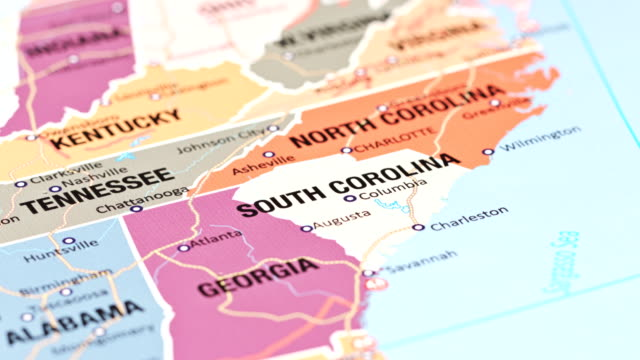 south carolina from usa states - south carolina stock videos & royalty-free footage