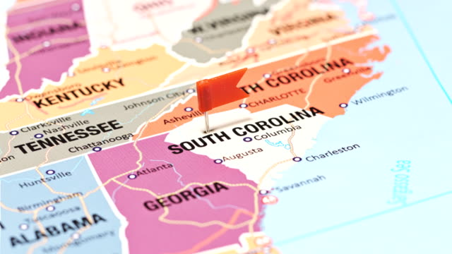 south carolina from usa states - south carolina stock videos & royalty-free footage
