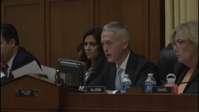 South Carolina Rep Trey Gowdy Chairman of the Immigration and Border Security Subcommittee on House Judiciary says the national security and public...