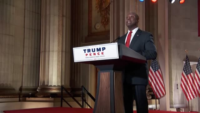 south carolina senator tim scott says in a keynote speech to the 2020 republican national convention first night not to given a cancel culture or the... - {{relatedsearchurl(carousel.phrase)}} stock videos & royalty-free footage