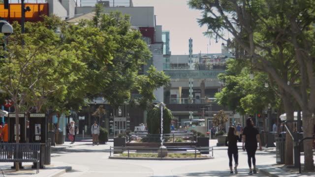 South End of Santa Monica Third Street Promenade