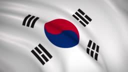 South Korea national flag