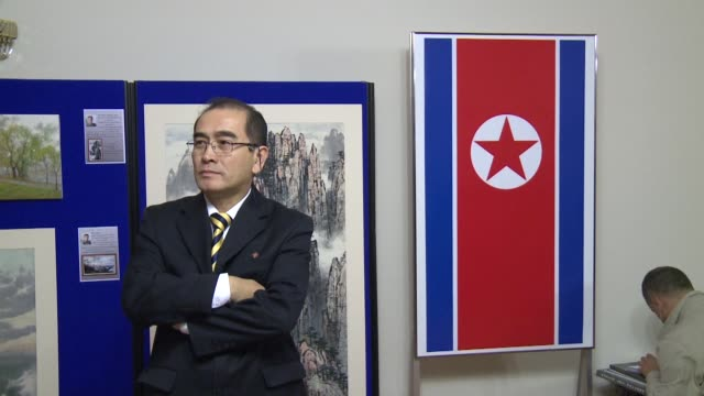 south korea says that north korea's deputy ambassador to britain had defected to seoul in a rare and major loss of diplomatic face for pyongyang - ambassador stock videos & royalty-free footage