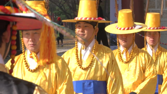 South Korea Seoul Gangnam Royal Guards at Deoksugung Place