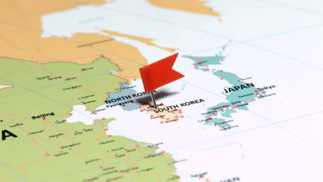 Corée du Sud avec goupille