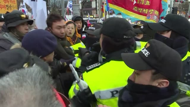 South Korean activists protested near a theatre where Kim Jong Un's sister and the South's President were to watch a Northern musical display in the...