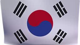 South Korean Flag Intro