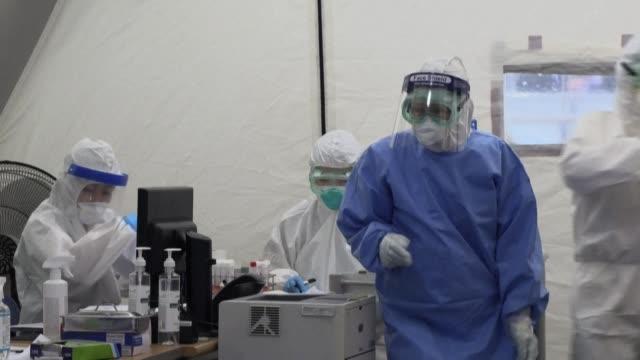 KOR: Medical testing facility busy after Seoul nightlife virus cluster